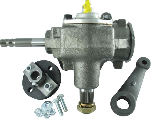 Borgeson Power Steering To Manual Steering Conversion Kit