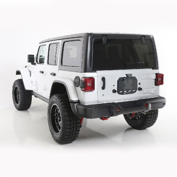 Poison Spyder Spare Tire Carrier Delete Plate